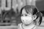 mask asian child